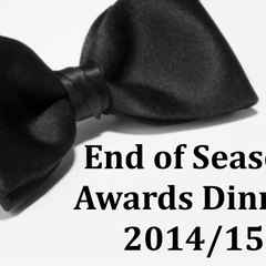 PJF 2014/15 Season Awards Dinner