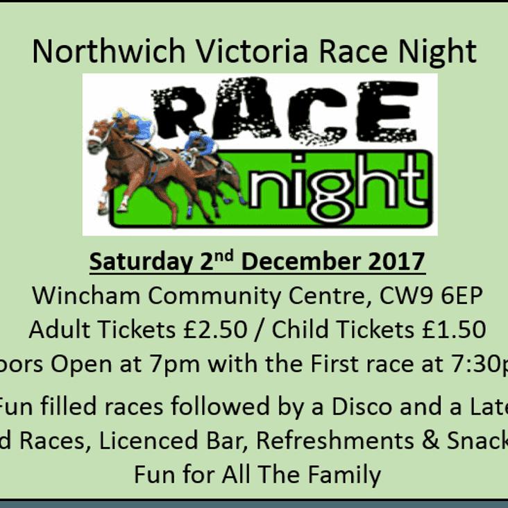 Northwich Victoria Race Night