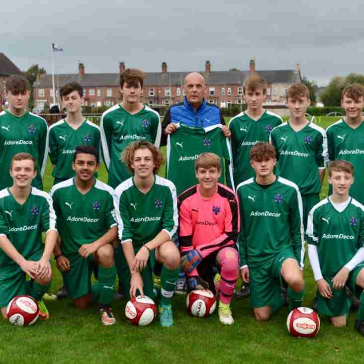 Northwich Vics FC Under 16's are recruiting