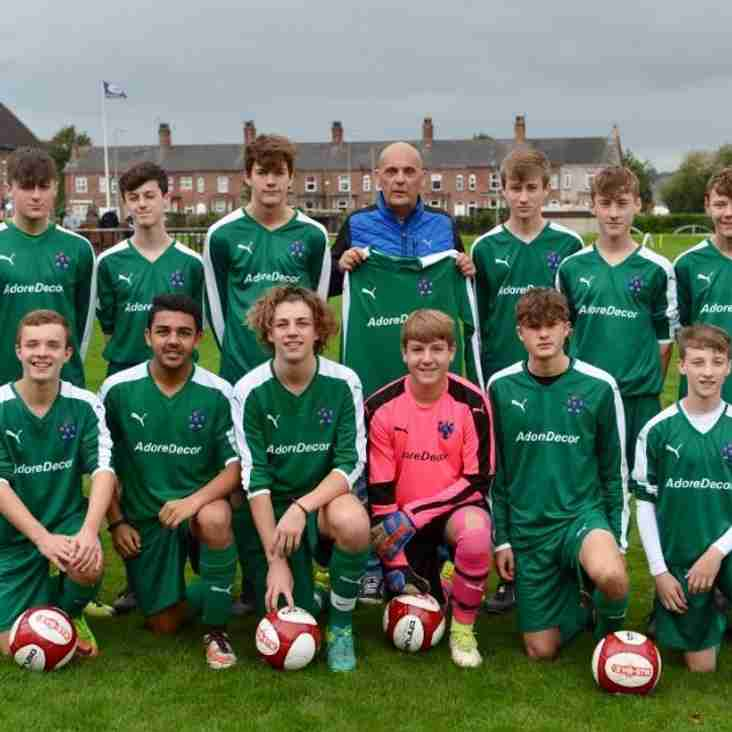 NVFC U16's-Mid Cheshire District Cup FINAL