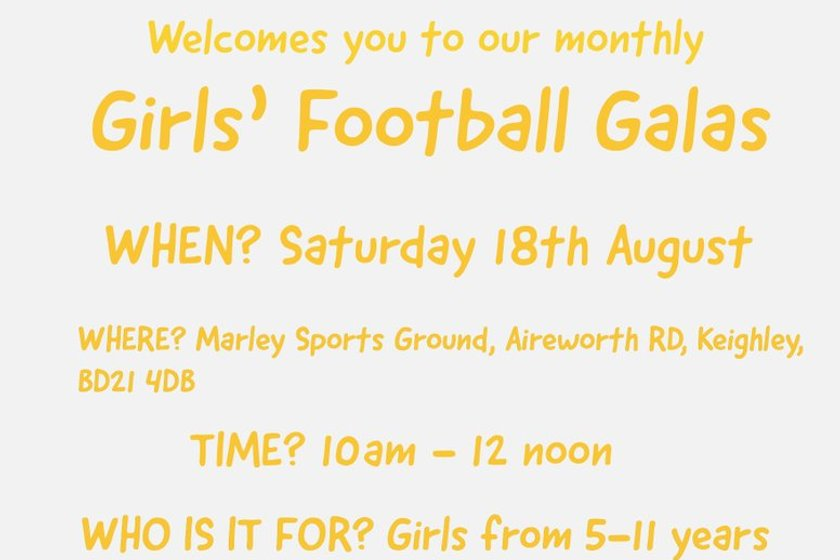 Girls Football Galas