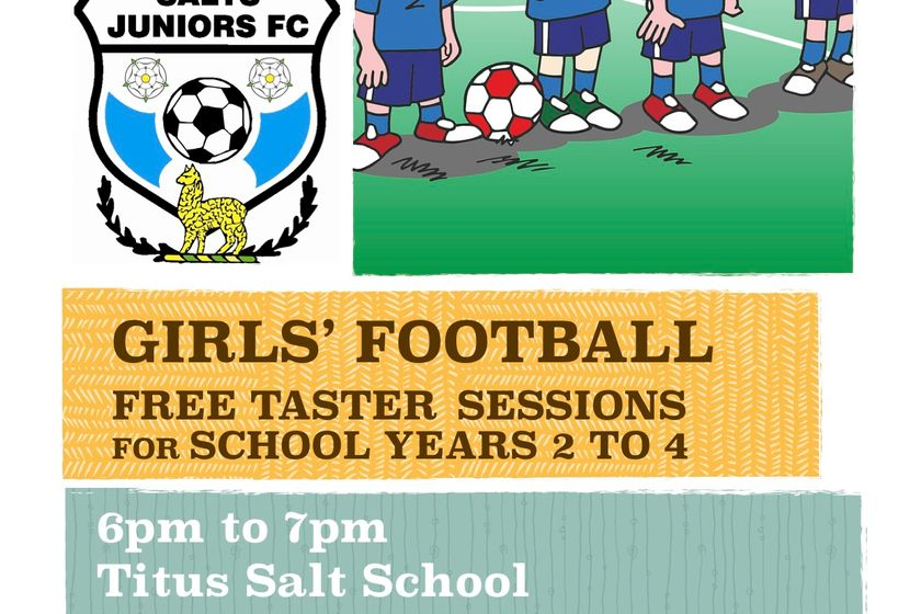 Girls Football Coming To Salts Juniors