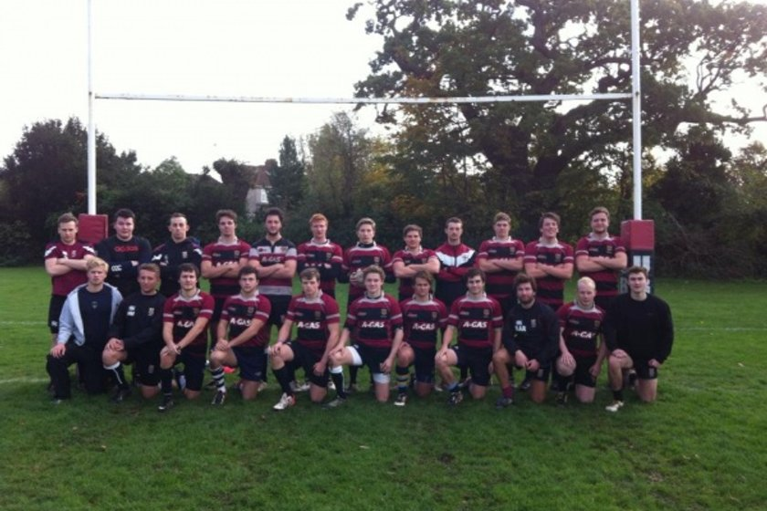 4th Team beat UW Trinity St David 1s 28 - 0