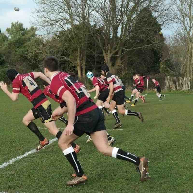 4th XV vs Southampton Solent (H) 22/01/14