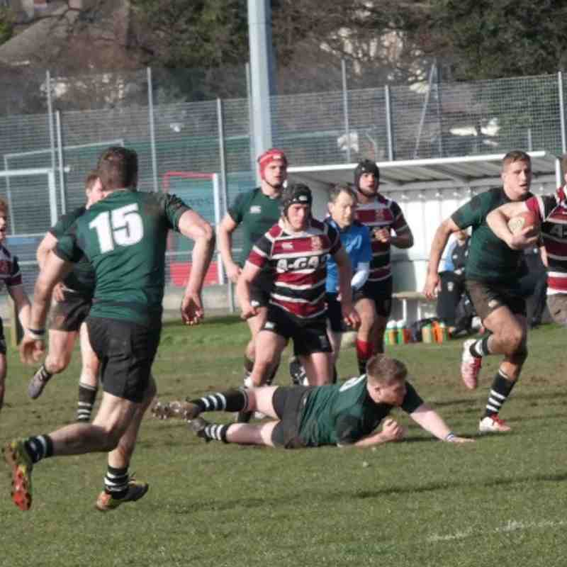 3rd XV vs Exeter (H) 26/02/14