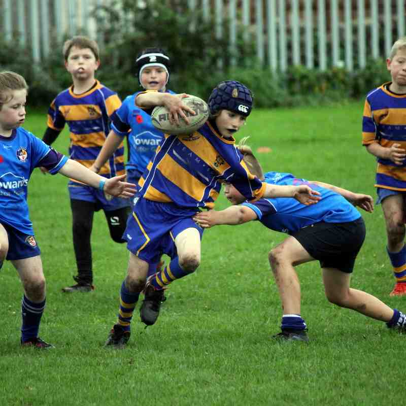 U9s vs Weston RFC 01/10/17