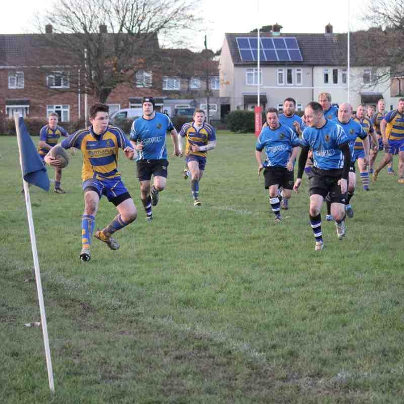 Clevedon Saxons vs Yate RFC 25/11/17