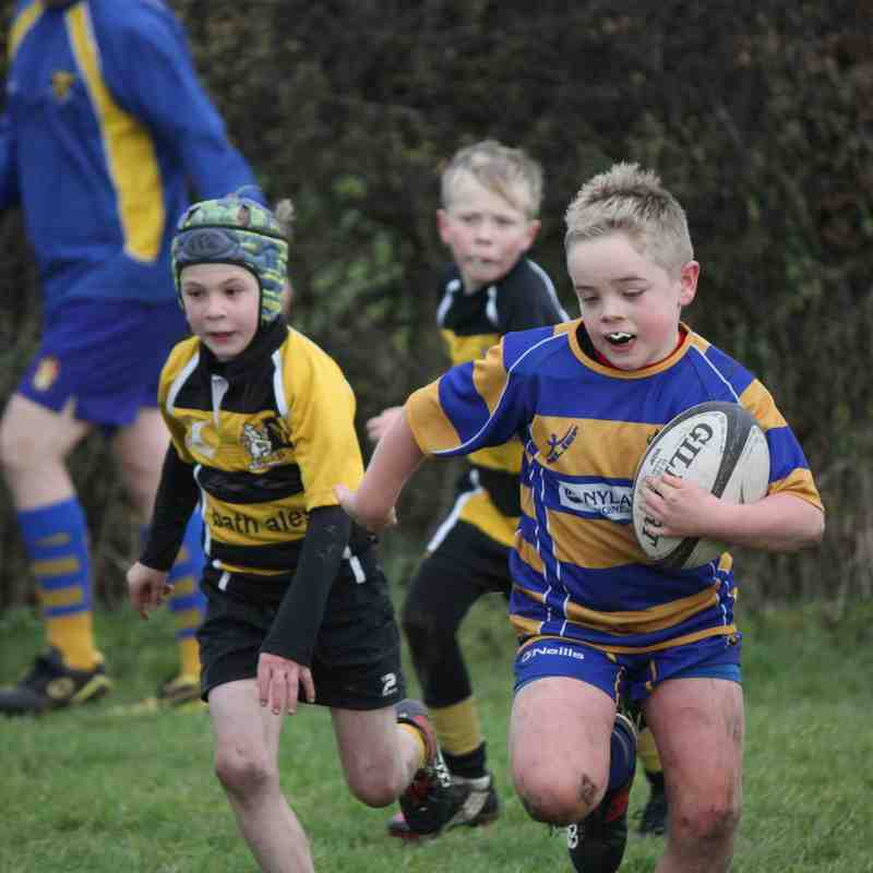 U9s vs Yatton 26/11/17