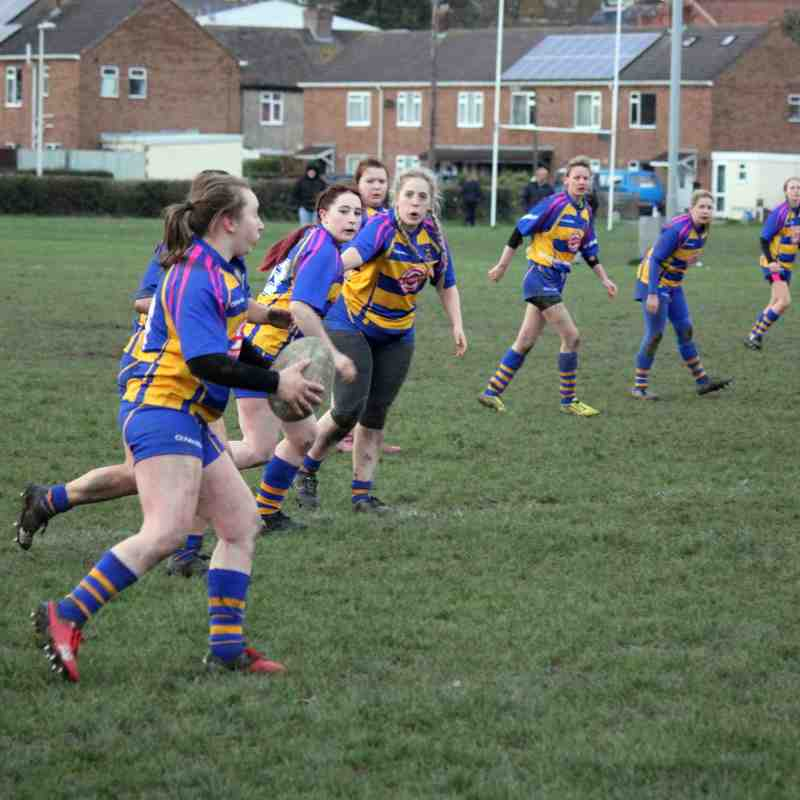 Clevedon Ladies vs Thornbury 26/11/17