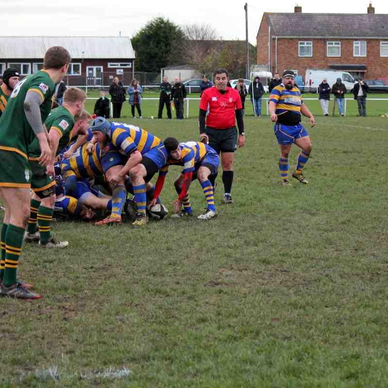 Clevedon 1st XV vs Newent 02/12/17