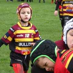 Latchford Giants U8's Maroons vs West Bank