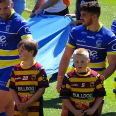 Latchford u8's @The Halliwell Jones 2018