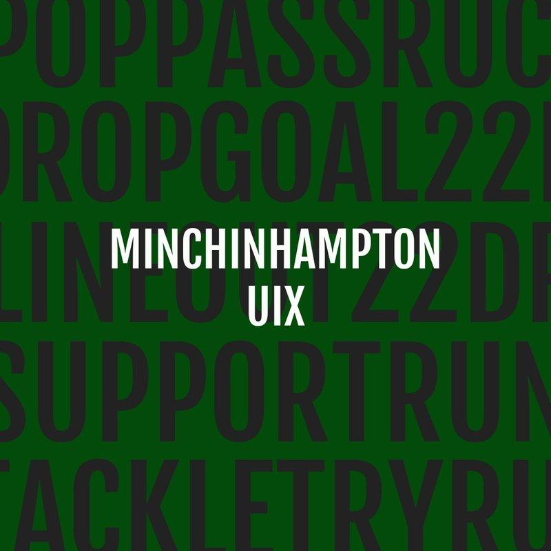 Chipping Sodbury vs. Minchinhampton RFC