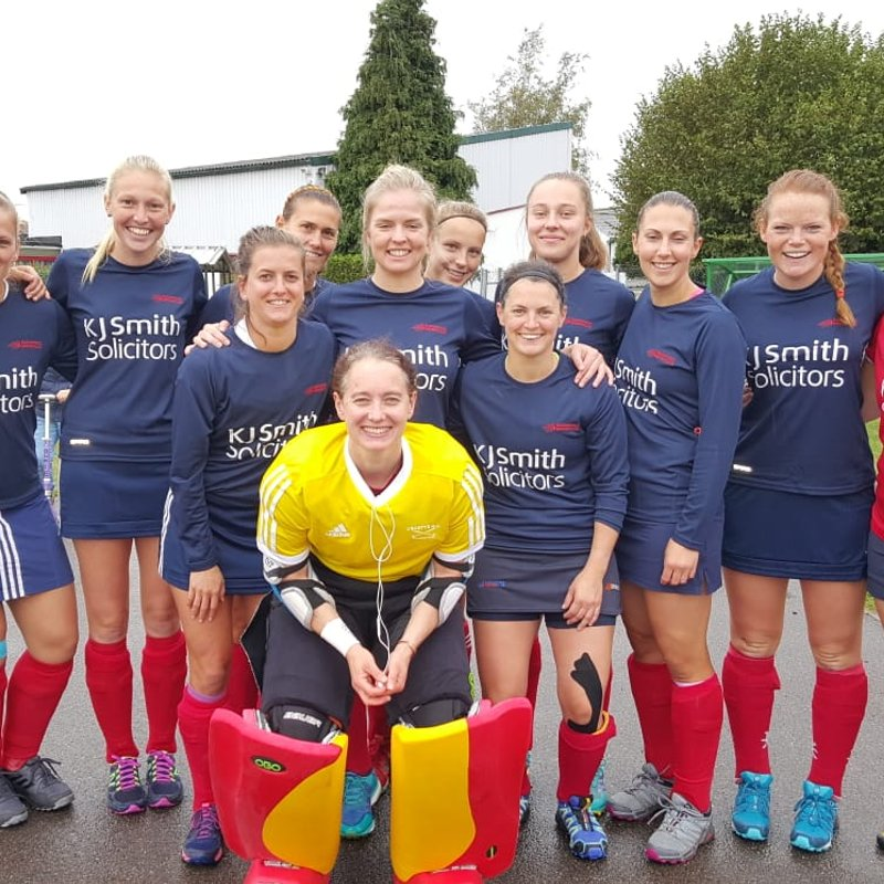 Disappointing result for ladies 1s