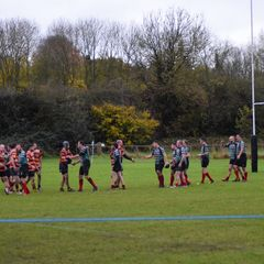 Oxford NoMads Vs Bicester III 11.11.17