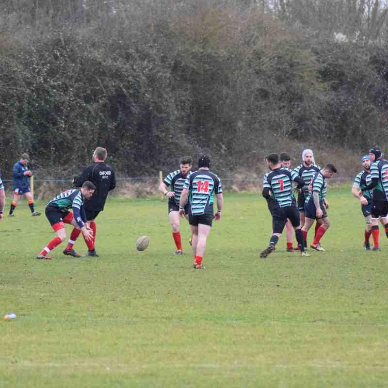 Oxford Nomads Vs Abingdon II 17.03.18