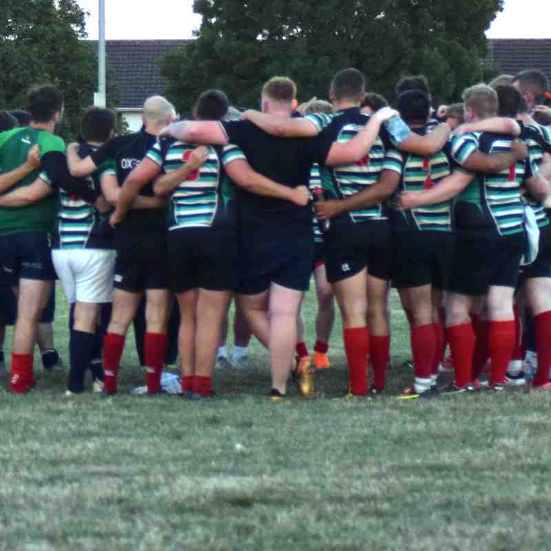 Oxford RFC vs Swindon 09/08/2018