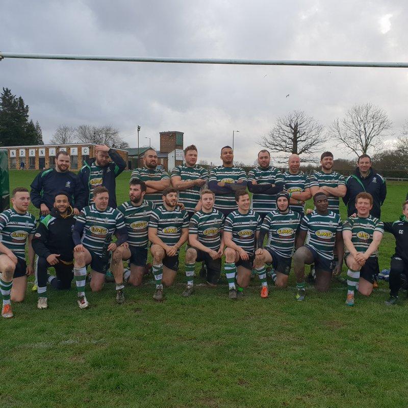 Match Report: Thamesians RFC 8 - 57 Hendon RFC
