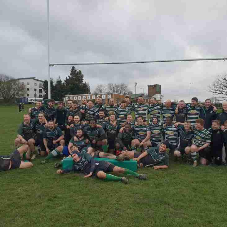Match Report: Letchworth RFC 3rd XV 19 - 29 Hendon RFC 2nd XV