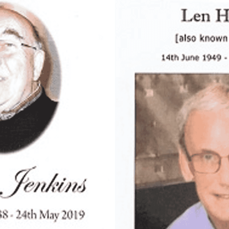 Colin Jenkins and Lenny Harber