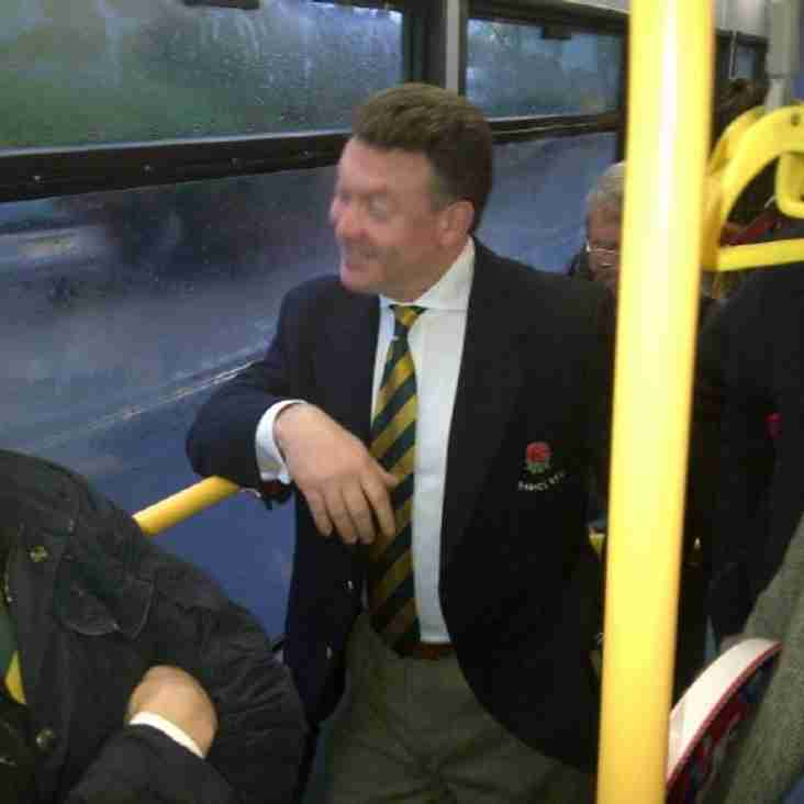 Kenny Worrall sighted on a bus shocker !!!