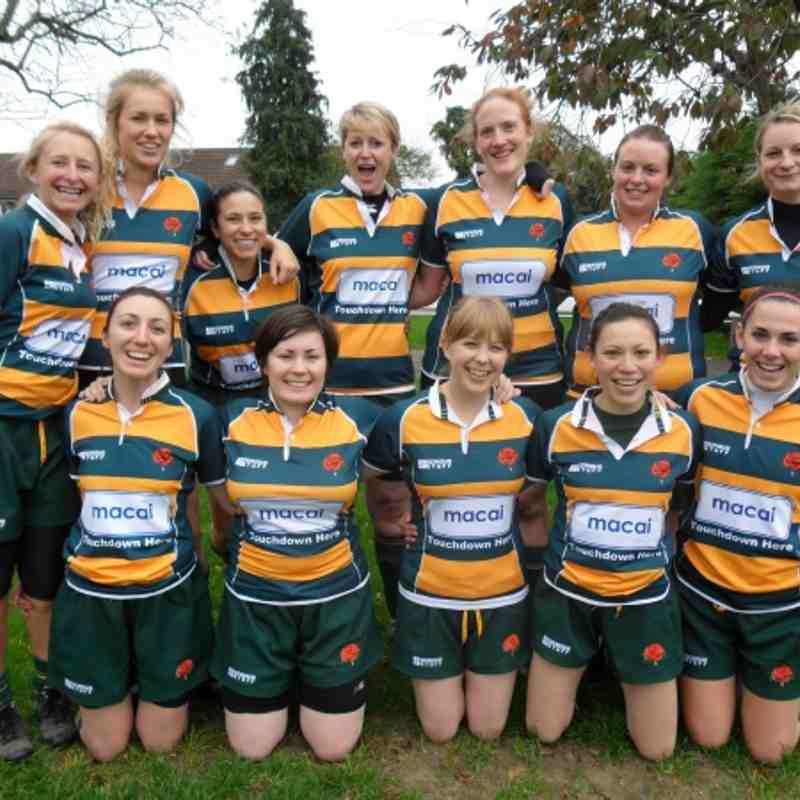 Barnes Ladies Away at Havant (21.10.12)