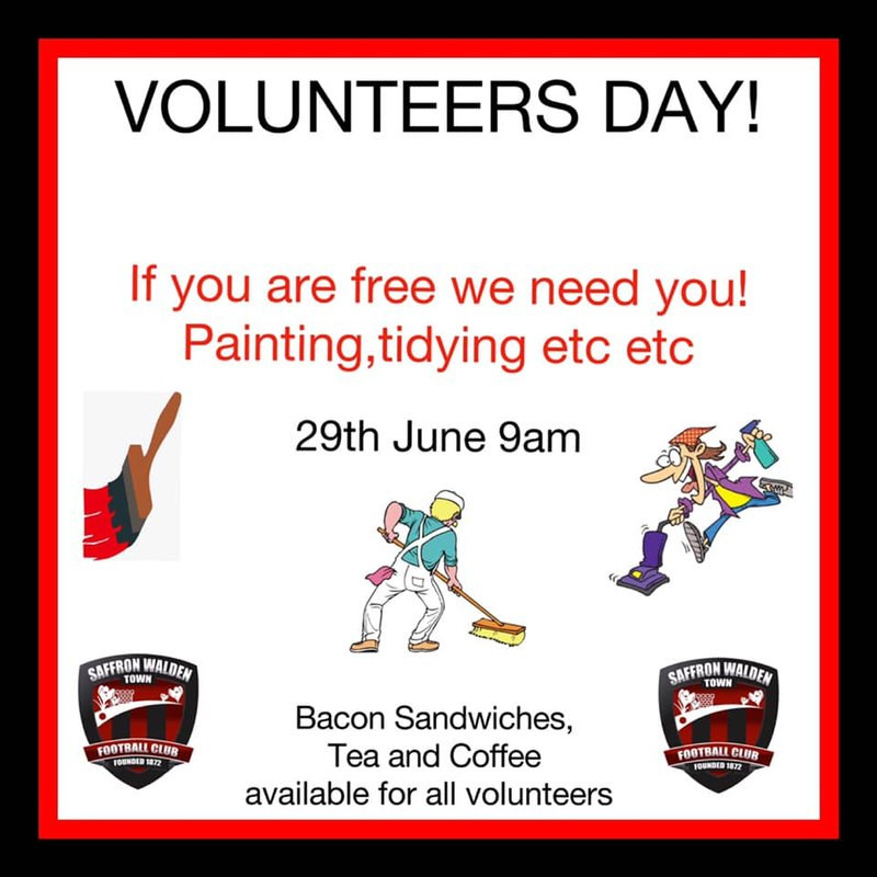 VOLUNTEERS DAY 29TH JUNE CATONS LANE