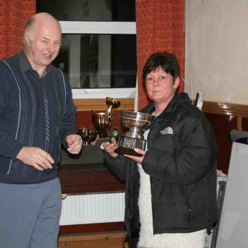 Trev and Billy County pairs County  area Quaters Finals 2010 Presention night 2011