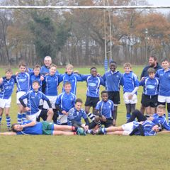 U13's vs Woodbridge - Dec 2017