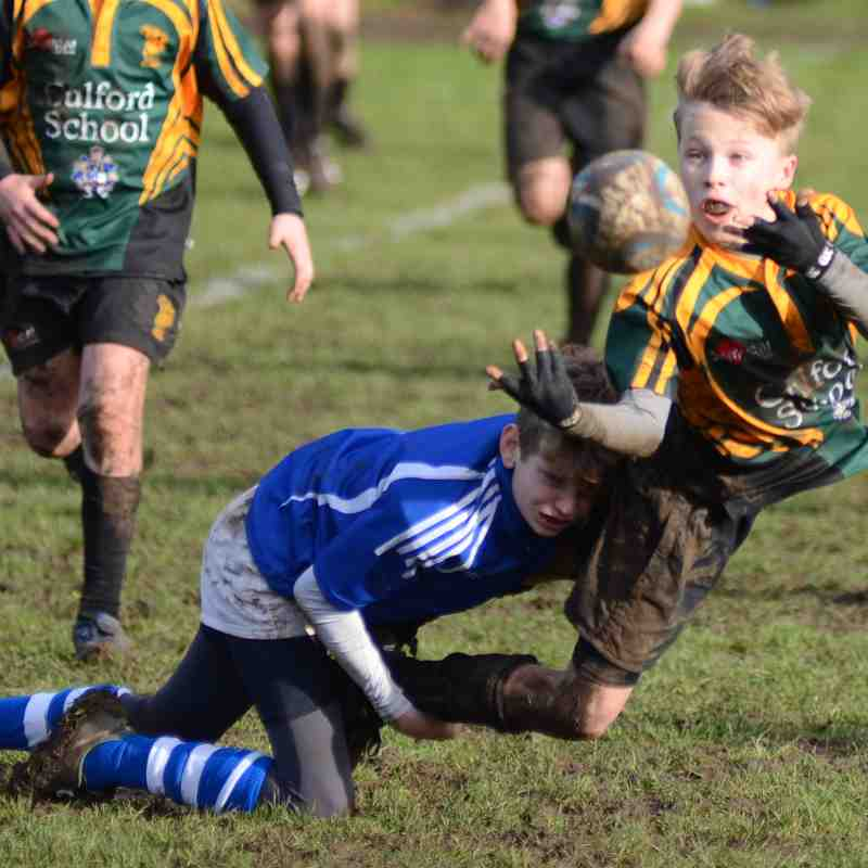 U13's vs Bury  Jan 2017