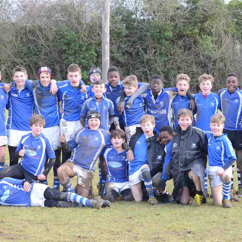 U13's vs Crusaders - Feb 2018
