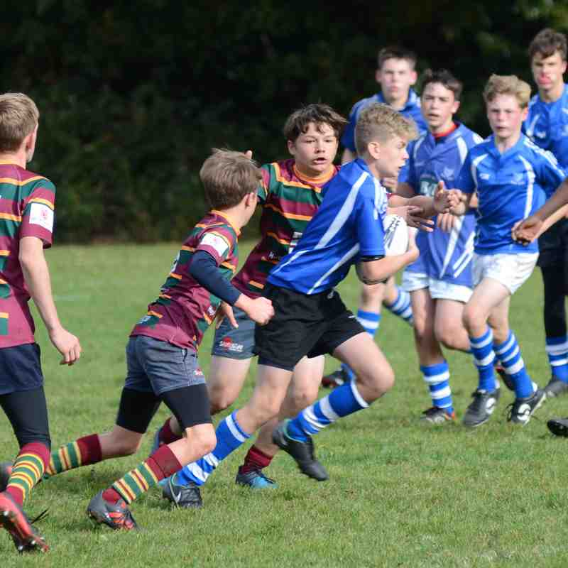 Diss U14's vs Norwich - Oct 2018