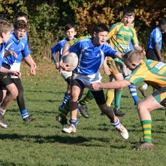 Diss U14's vs Crusaders - Norfolk Cup - Nov 2018