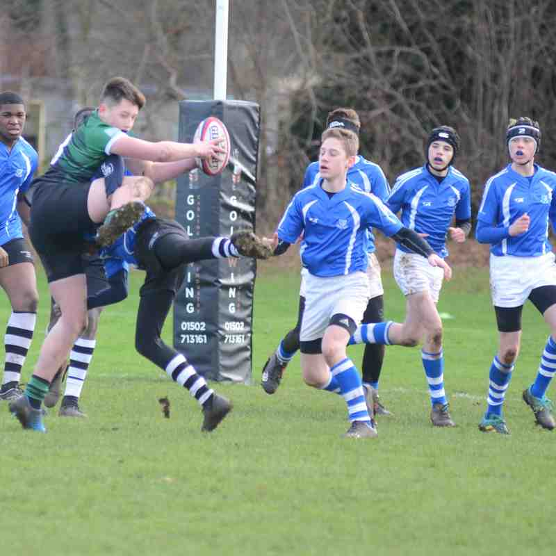 Diss U14's vs Beccles - Jan 2019