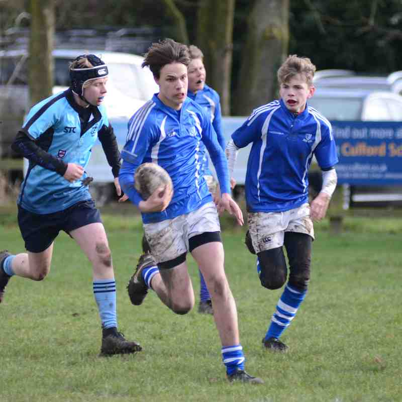Diss U14's vs Woodbridge - Jan 2019