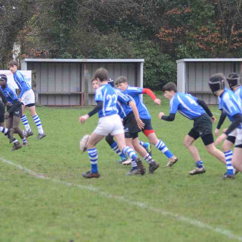 Diss U14's vs Holt - March 2019