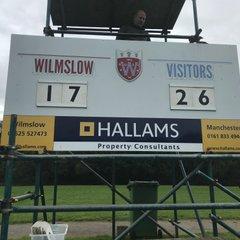 1st Team Wilmslow v Alnwick 15thSept 18