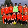 Under 12s Sunday beat Team DNF Red 7 - 2