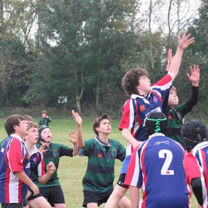 Fairford V Grove 16th Oct 2011