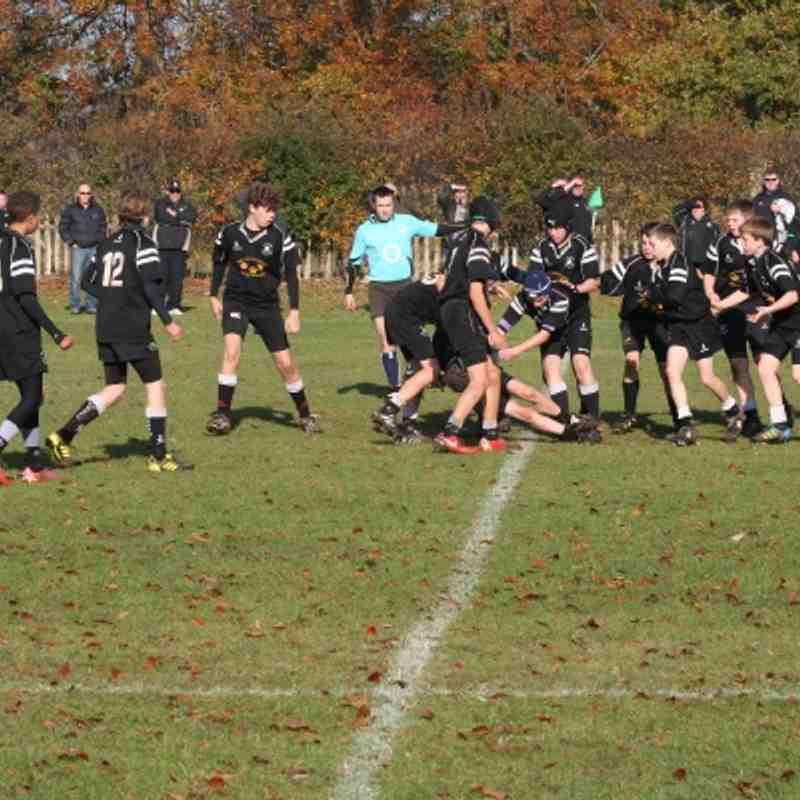 Fairford V Wooten Basset 6th Nov 2011