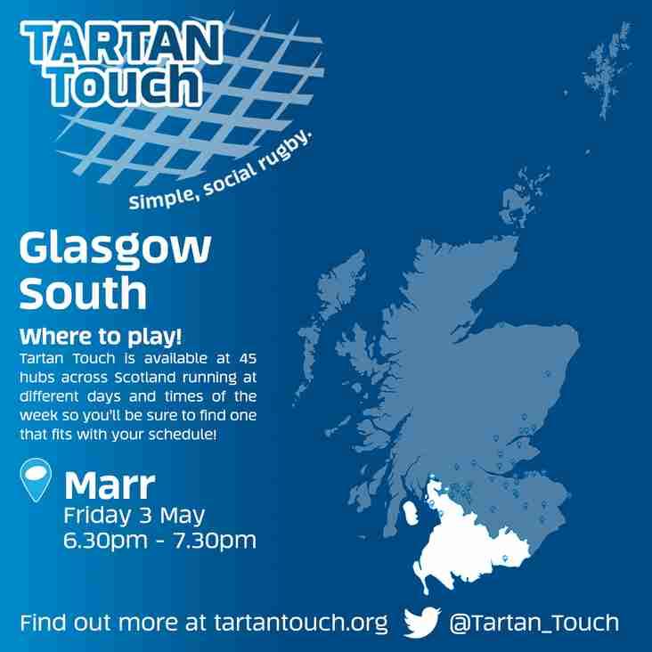 Tartan Touch Starts at Fullarton
