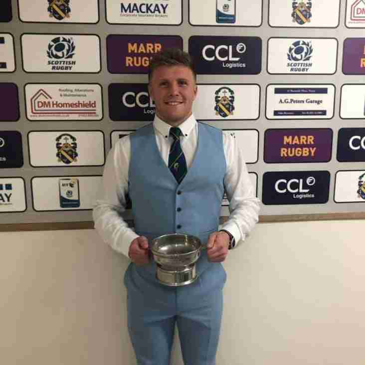 1st XV PLAYER OF THE YEAR 2018/2019