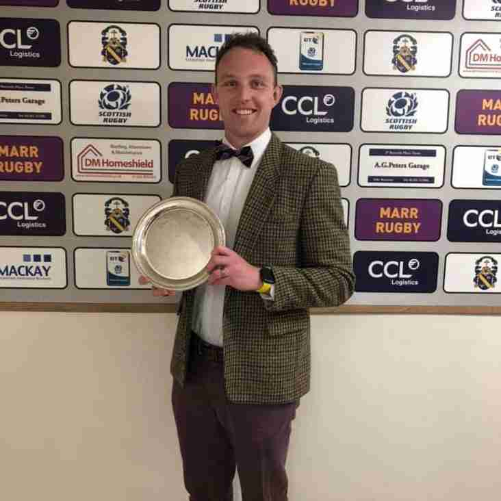 Ross grabs the top try scoring award