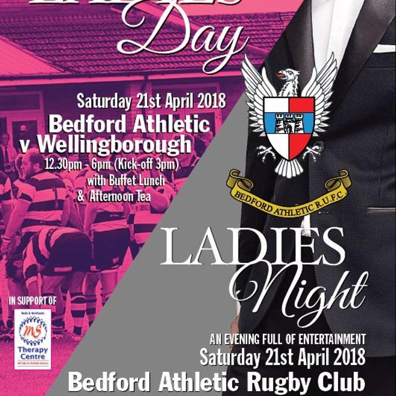 21st April 2018: Ladies Day & Ladies Night