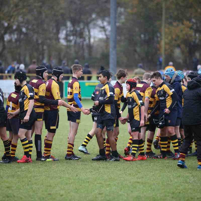 U14s vs Ipswich in Suffolk Plate - 33-7 win
