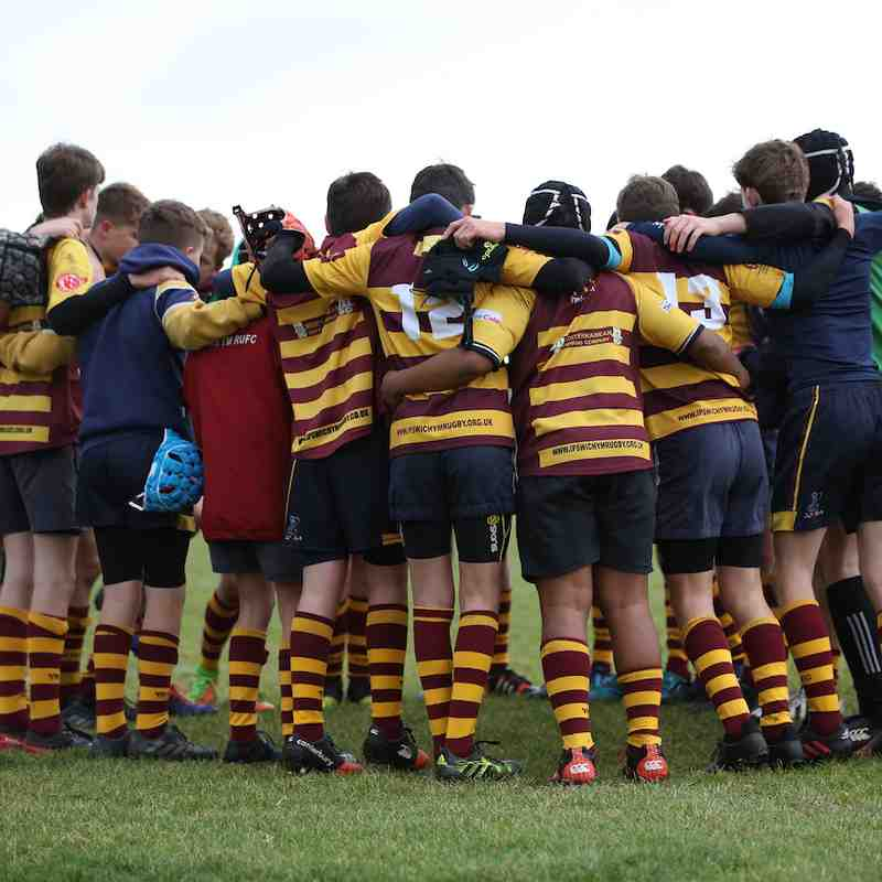 U14s Plate Vs Woodbridge 38-0 win