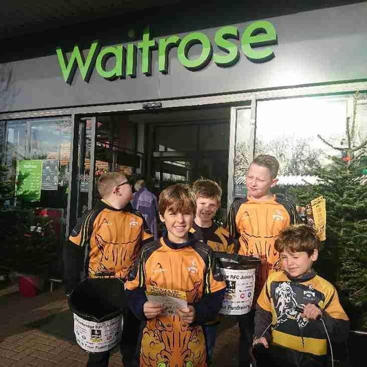 Mini's Fund raising at Waitrose