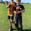 Oscar and Joe star in the Under 11's team at The Kent Festival