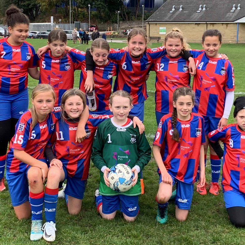 Under 12 Belles lose to Horsforth SM Lionessess U12 2 - 5