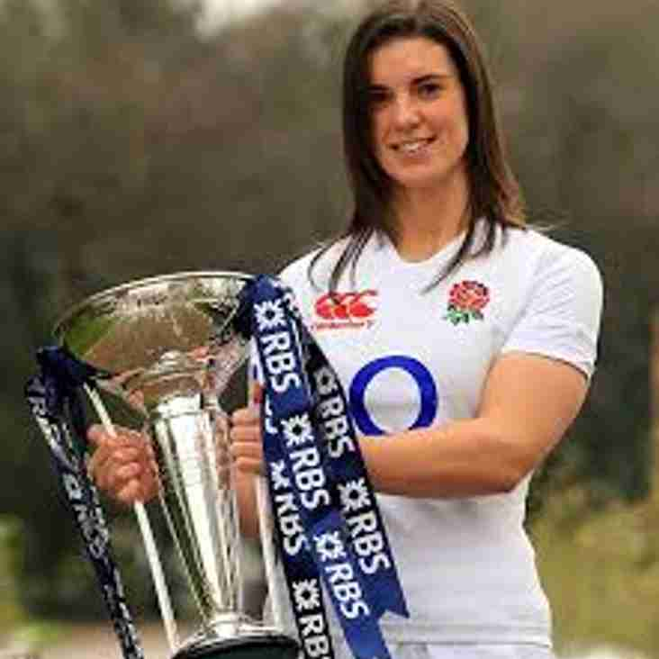 Sarah Hunter: Local girl named World Rugby's Women's Player of the Year.